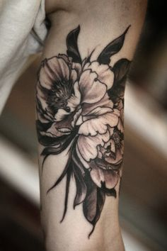 alice carrier tattoo peonies - Google Search