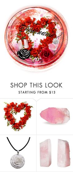 """Valentine's icon!!"" by bumble-bucky ❤ liked on Polyvore featuring SoapRocks, NOVICA and Philmore"