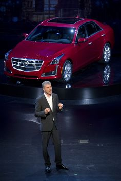 2014 Cadillac CTS live photos: 2013 New York Auto Show