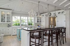 beach house lighting fixtures Kitchen Beach with beadboard coastal cup pulls