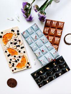 Homemade Chocolate Bars, Artisan Chocolate, Chocolate Bark, Chocolate Gifts, Chocolate Cupcakes, Cake Pop Decorating, Dessert Presentation, Valentines Gift Box, Diy Snacks