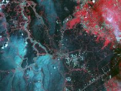 Thailand Flooding from NASA's Terra Spacecraft.......Oh! my country.