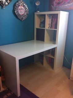 Ikea Expedit Shelves And Desk