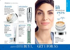 Anew Clinical #antiaging #skincare, buy one, get one for $5 at www.deannasbeautyonline.com. #bogo