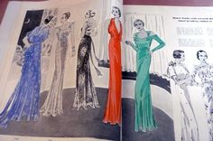 Pictorial Review Fashion Book, Summer 1934 featuring 7147 and ?