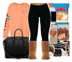 Waiting for the winter like... by youngfashionaddict ❤ liked on Polyvore featuring Casetify, Givenchy and UGG Australia