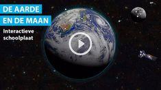 Schooltv: De aarde en de maan - Interactieve schoolplaat voorbij de dampkring