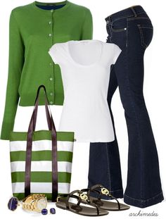 """Casual Spring"" by archimedes16 on Polyvore"