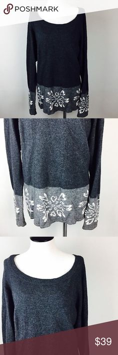 Loft Long Tunic Gray Floral Print Cotton Sweater Loft Womens Sweater Sz L Gray Cotton Long Tunic Floral Medium Knit Crewneck  *Please make sure to check measurements below, to ensure a proper fit. Buy with confidence, we stand behind all our products!  Type: Sweater Style: Tunic Brand: Loft Materials: Rayon, Wool, Nylon, Cotton, Rabbit Hair Color: Gray Measurements (approximate- laying flat)   Size: L   Bust (underarm to underarm): 24   Length: 27 Condition: Gently pre-owned Country of…