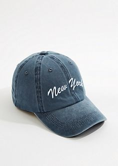 ea8a62cd New York Vintage Washed Dad Hat | rue21 Beanie Outfit, Vintage New York,  Outfits