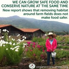 A new paper published today in the journal Proceedings of the National Academy of Sciences shows that removing habitat around farm fields does not make food safer as many previously thought. In fact, it has potentially severe negative effects including increasing the presence of E. coli. #Ag #Food