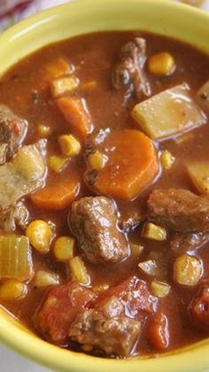 Steak Soup Recipe ~ Delicious and hearty