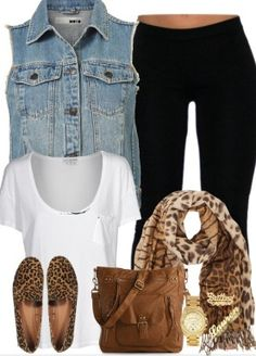 Simple outfit for teens.