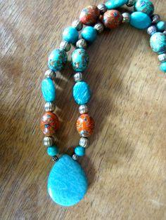 Necklace & Earring Set by OceanArtisan on Etsy