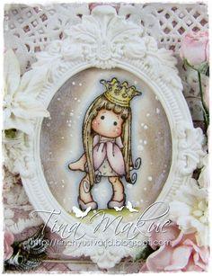 OOAK Magnolia Tilda Mini Gift Bag by TinchyUstvarja on Etsy