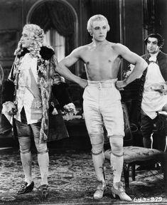 "chaplinandkeaton: ""Rudolph Valentino in Monsieur Beaucaire (1924) """