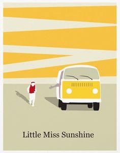 Little Miss Sunshine Poster A3 Print. $18,00, via Etsy.