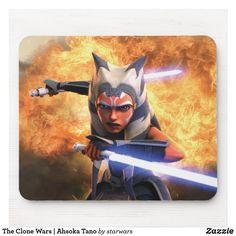 The Clone Wars | Ahsoka Tano Mouse Pad Barn Wood Frames, Frames On Wall, Poster Wall, Poster Prints, Art Prints, Gig Poster, All You Need Is, Jedi Meister, Ahsoka Tano