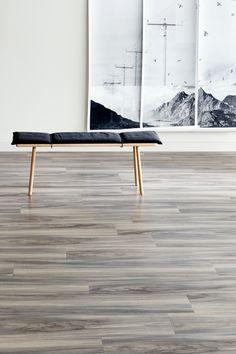 Signature AR0W8220-Pearl Wash Wood Amtico Signature, Office Floor, Dining Bench, House Ideas, Flooring, Pearls, Furniture, Design, Home Decor