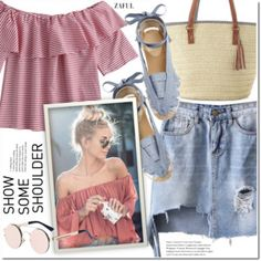 Shimmy, Shimmy: Off-Shoulder Tops