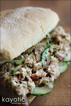 Tuna #Salad Deluxe Recipe - jam-packed with unique & yummy ingredients!