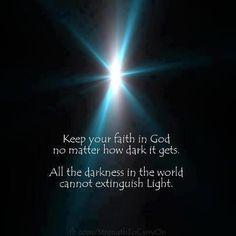 Your Faith in GOD