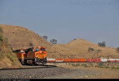 RailPictures.Net Photo: BNSF Railway GE ES44DC at Caliente, California by Kantirisn