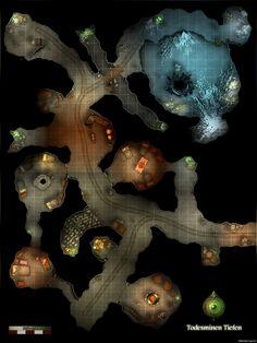 Caverne de la Perle de Téléportation. Camp des Kuo-Toa