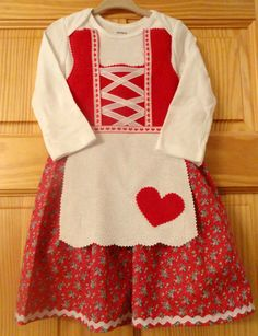 #Oktoberfest READY TO SHIP 18 month long sleeved baby dirndl by adasaccessories4me on Etsy