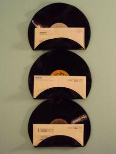 Increíbles manualidades hechas con discos de vinilo que te sorprenderán - Las Manualidades