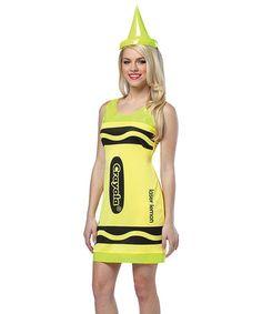 251ad50e77d Take a look at this Laser Lemon Crayola Crayon Dress-Up Set - Women by