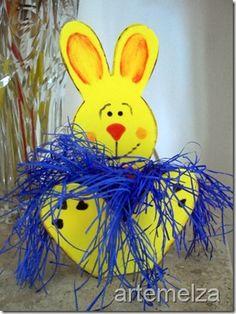 Sew - Easter rabbit in EVA