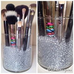 Sephora inspired brush holder!