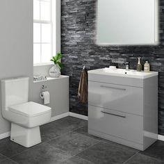 32 best modern vanity bathroom units images attic bathroom attic rh pinterest com