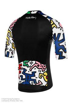 15ab3efe8 ATQ x Keith Haring Jersey Black White