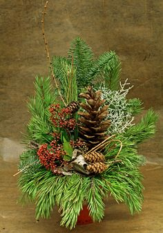 Christmas Wreaths, Christmas Decorations, Xmas, Holiday Decor, Grave Decorations, Ikebana, Pine Cones, Funeral, Advent