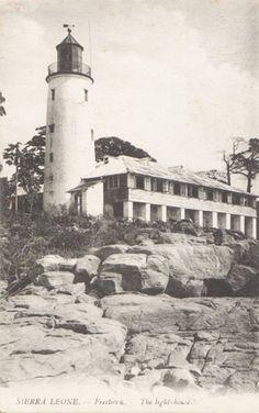 Cape Sierra Leone Light, Freetown, Sierra Leone