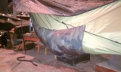 WunderQuilt: A DIY UnderQuilt / Down Vest - Hammock Forums - Elevate Your Perspective