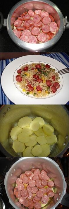 Brown Rice Rezept im Schnellkochtopf Tasty, Yummy Food, Portuguese Recipes, Herd, Mexican Food Recipes, Love Food, Food Porn, Food And Drink, Cooking Recipes