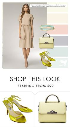 """""""DRESS"""" by masayuki4499 ❤ liked on Polyvore featuring Jimmy Choo and Kate Spade"""