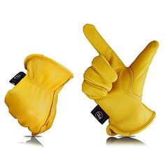 Cool Leather Motorcycle Work Gloves Leather Work Gloves, Cow Leather, Biker Gloves, Cafe Racer Jacket, Yellow Gloves, Motorbike Design, Mitten Gloves, Mittens, Ugg Boots