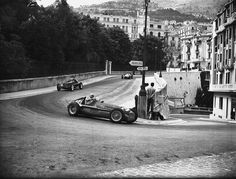Fangio, 1950 Monaco Grand Prix. In 7 full F1 seasons he was World Champion 5 times and twice runner-up.
