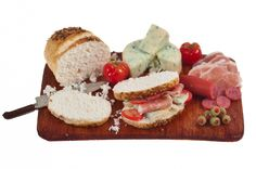deli lunch board miniature food by amanspeak on Etsy