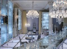 loveisspeed.......: cristal room by philippe starck paris france