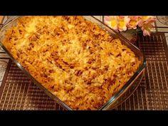 Zapiekanka Makaronowa z Mięsem w Sosie Pomidorowym - YouTube Macaroni And Cheese, Ethnic Recipes, Food, Youtube, Essen, Mac And Cheese, Yemek, Youtubers, Youtube Movies