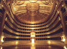 Listen to a Verdi opera (ideally Nabucco) at the Teatro alla Scala.