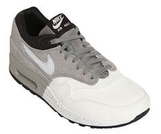 b73d92c14385 Nike Air Max 1 Grey White-Black Nike Air Max 2012