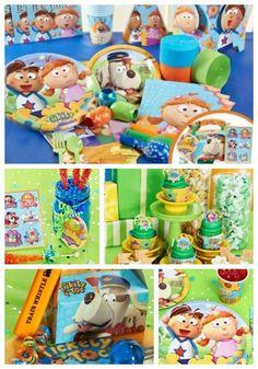 Let the Adventure Begin with a Tickety Toc Birthday Party! #kidsbirthday #ticketytoc #nickjr #birthdayexpress