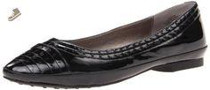 Easy Spirit Women's Kariya Flat,Black,6 M US - Easy spirit flats for women (*Amazon Partner-Link)