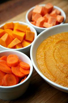 Squash, Sweet Potato, Carrot, and White Bean Soup